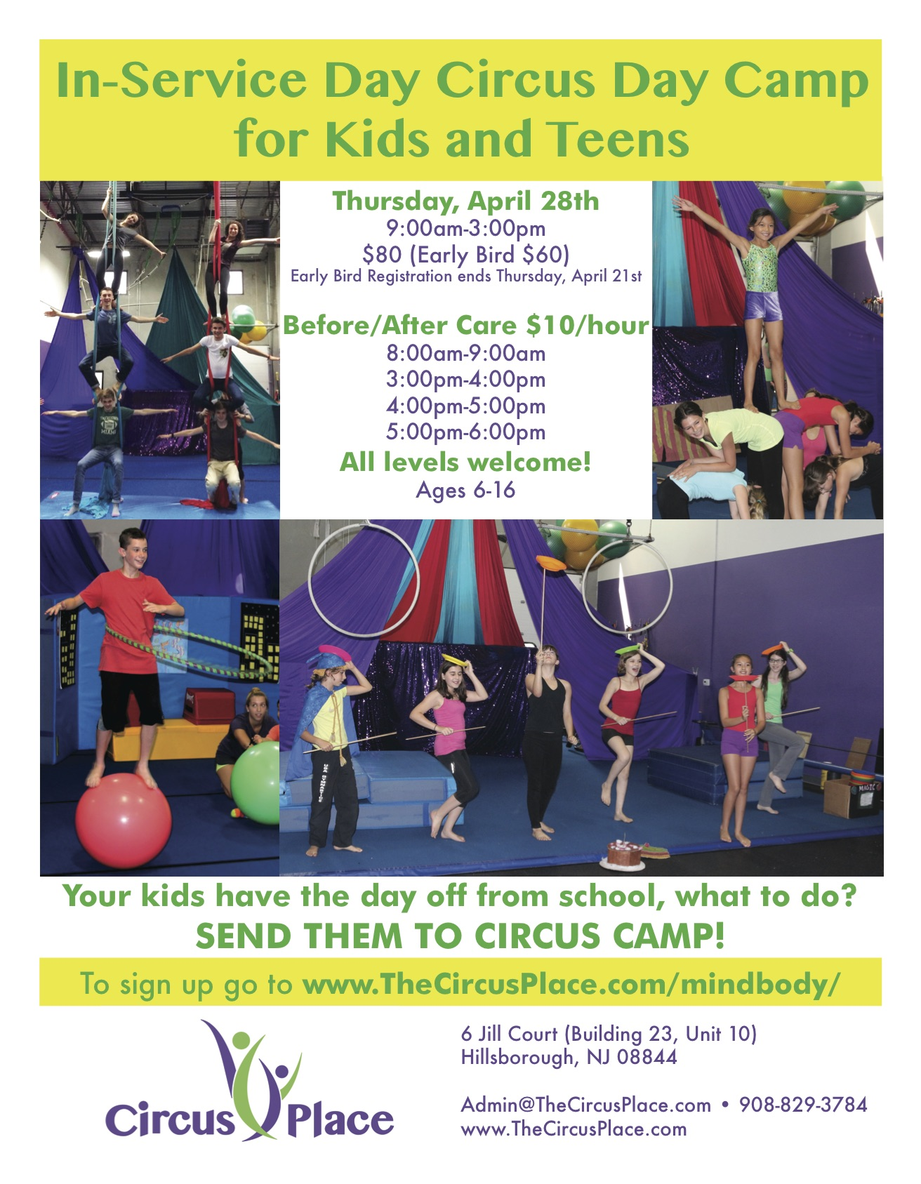 Circus Place In Service Day Day Camp